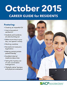 ACP Career Guide for Residents - October 2015
