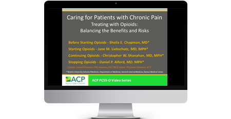 Providers' Clinical Support System for Opioid Therapies