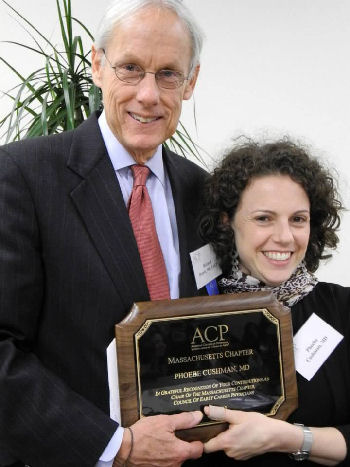 Dr. Cushman receives award