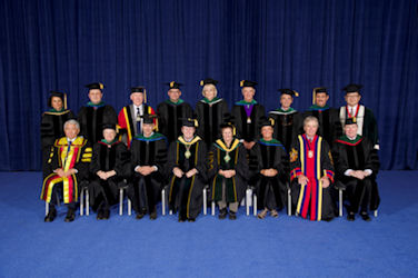 Honorary Fellows at Convocation