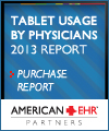 Tablet Usage by Physicians - 2013